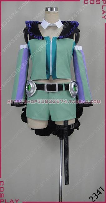 Macross Delta Reina Prowler Uniform Cosplay Costume