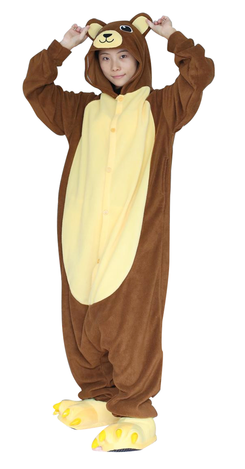 Brown Bear pajamas01