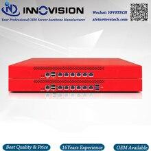 Ekonomiczne 6GBe sieci lan stojak na 1U celeron procesor 3855U Firewall serwera platforma