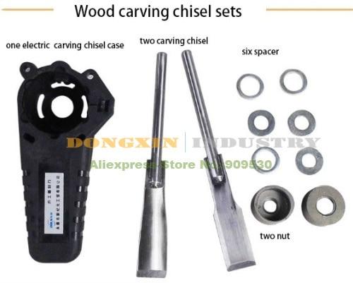 ФОТО Electric Wood carving chisel sets Woodworking tool