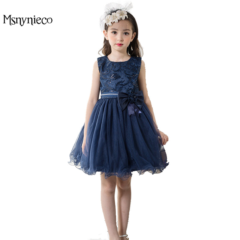 Girls Christmas Dress Kids Dresses for Girls Princess Sleeveless Birthday Party tutu Dresses 2018 Summer Toddler Girl Clothes new cinderella princess girl dress kids christmas dresses costume for girls party crown necklace fantasia dress kids clothes