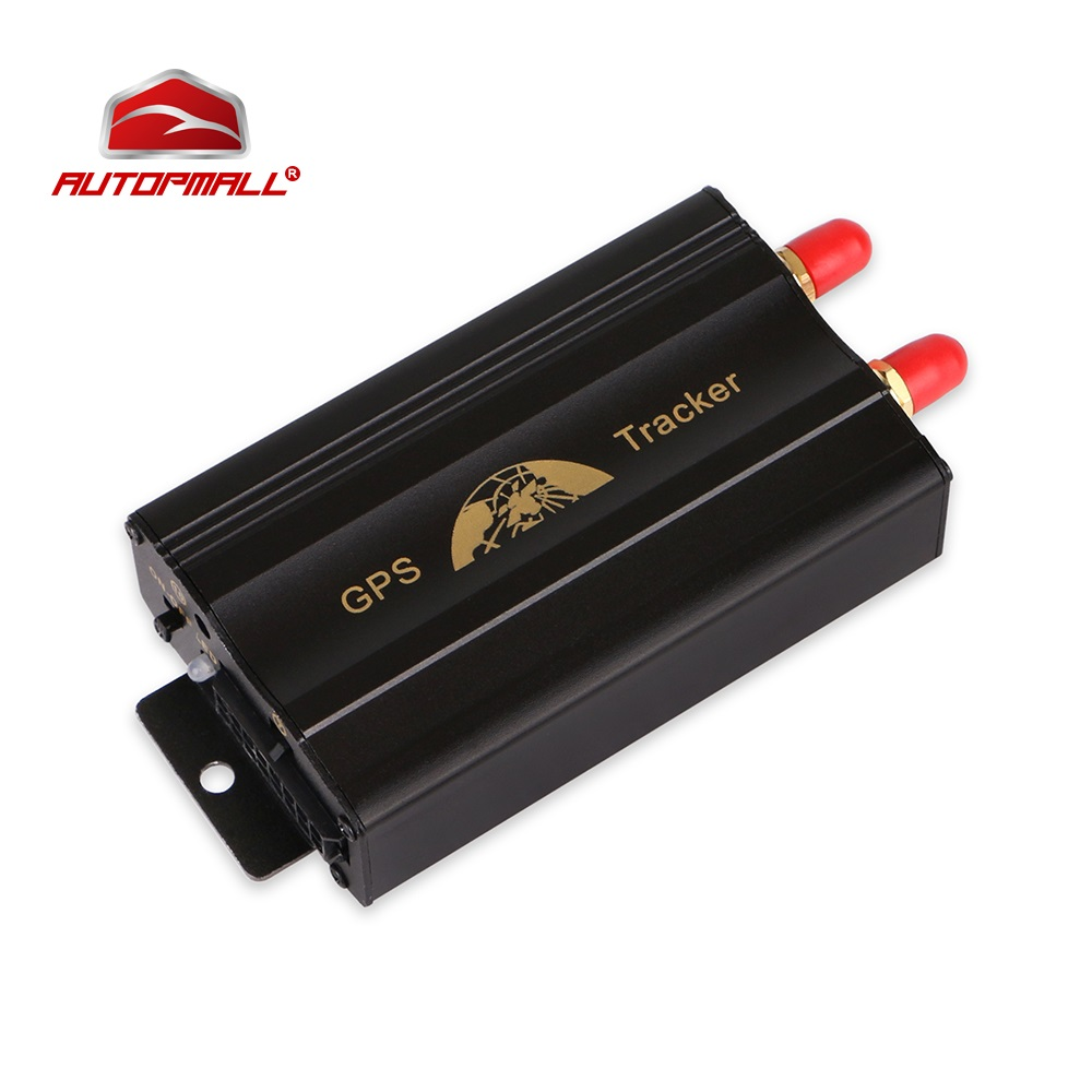 Car GPS Tracker Cut Oil Fuel Sensor Vehicle Tracking Device GPS Locator GPS 103A TK103A Plus SOS Geo-fence Free Web APP Tracking купить недорого в Москве