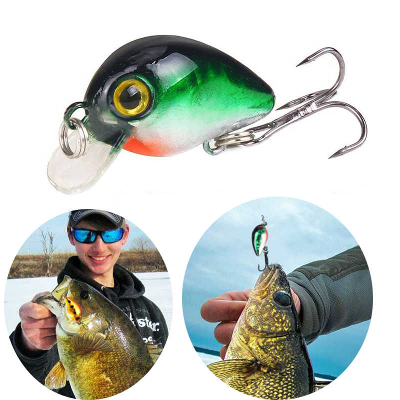 3cm 1.6g Mini VIB Floating Fishing Lure Crankbait Artificial Japan Hard Bait Pesca Hooks Fish Wobbler Tackle Topwater Carp Hooks