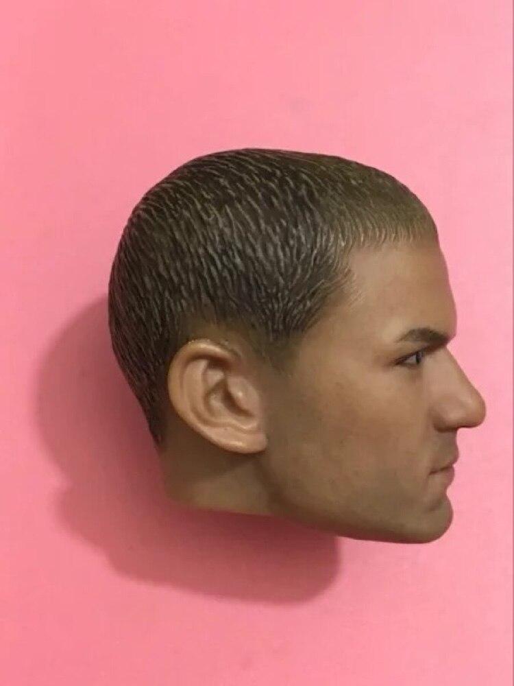 Custom 1//6 Theodore Bagwell T-BAG Head Sculpt A-07 Fit 12/'/' Male Body Figure