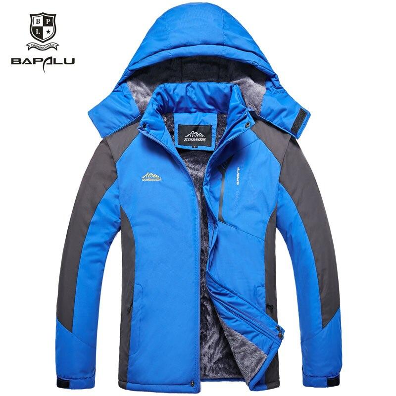 Autumn Winter New jacket men Plus thick velvet windproof warm cotton coat Mens Hooded casual jacket coat Size L-5XL F-1788