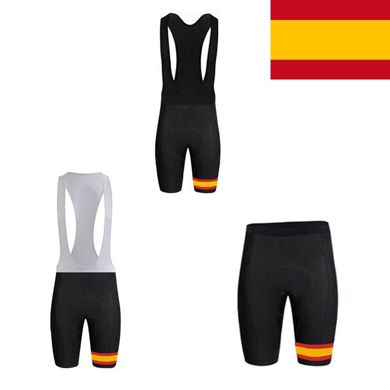 Spain Flag Cycling Bib Shorts Gel Pad Mountain Bike Bicycle Shorts Culotte Ciclismo MTB Shorts Men Women Cycling ClothingSpain Flag Cycling Bib Shorts Gel Pad Mountain Bike Bicycle Shorts Culotte Ciclismo MTB Shorts Men Women Cycling Clothing