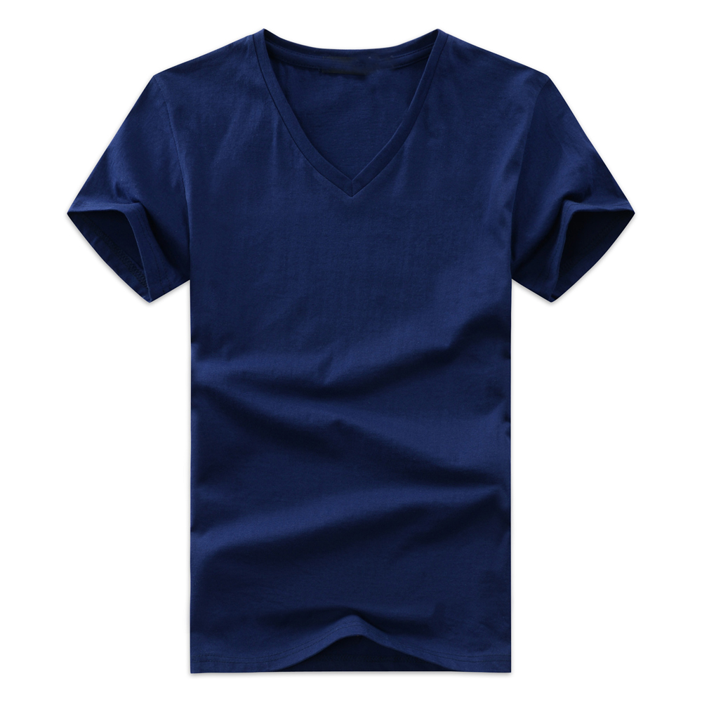 Buy men 39 s t shirts v neck plus size s 5xl for Plus size summer shirts