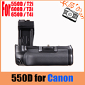 Vertical Battery Grip Pack For Canon EOS 550D 600D 650D 700D T4i T3i T2i as BG-E8