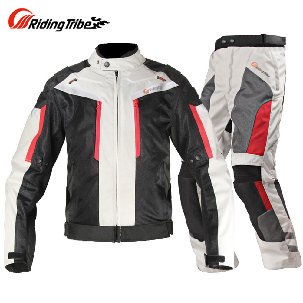 Windproof Motorcycle Jacket Pants Suit Chaqueta Moto Jaqueta Motoqueiro Blouson Moto Protection Gears Clothing Armor Motocicleta motorbike racing suit children combinaison course automobile kids chaqueta moto mujer baby car karting suit motorcycle suit car