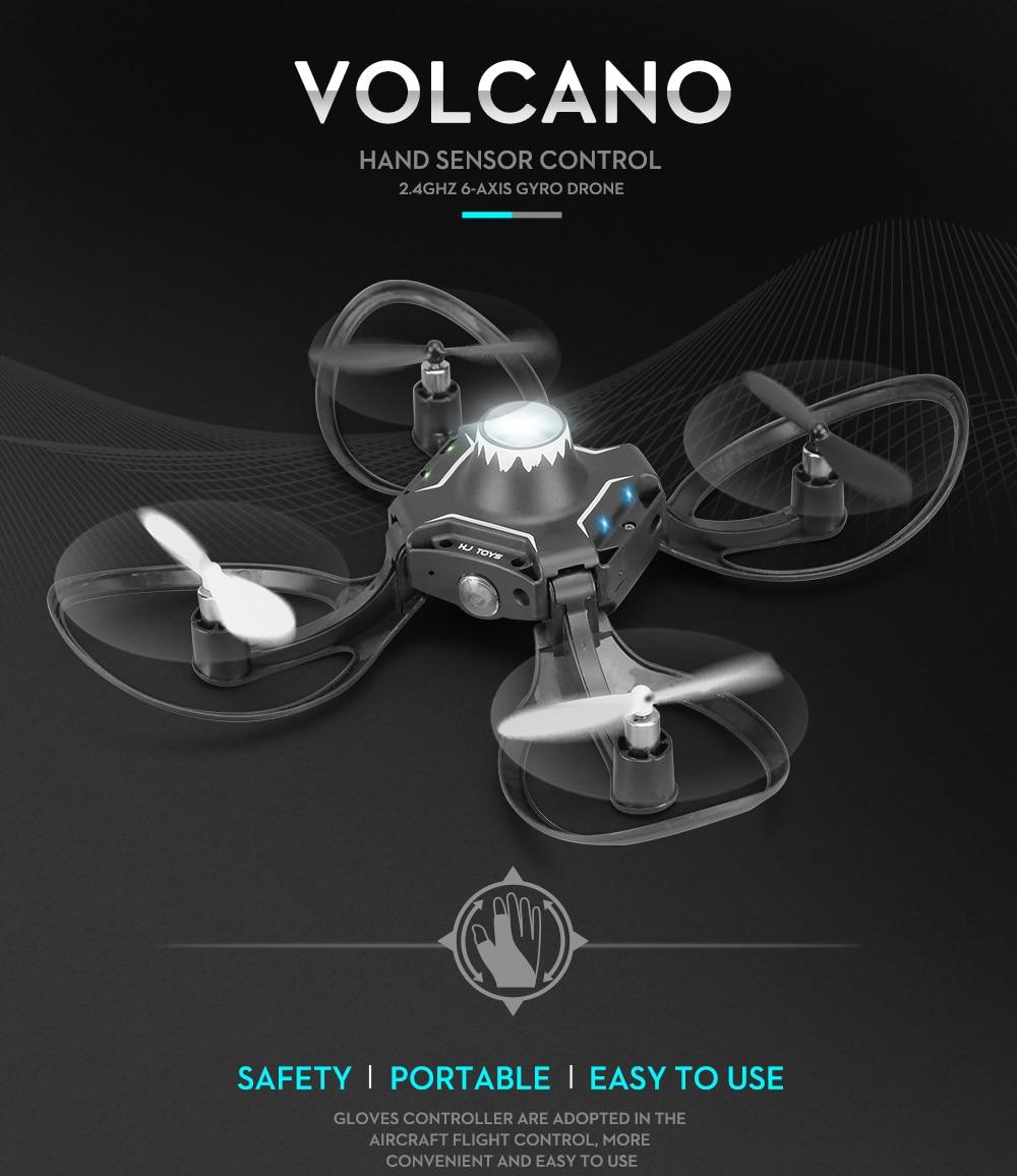Valcano Gloves Control Mini Drone 8