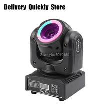 New arrival 60W mini led beam Moving Head with light strip running  good Use for Home entertainment party KTV Night Club Dance