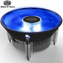 Soğutucu ana i70 i70C MINI CPU soğutucu radyatör 12cm LED mavi ışık için sessiz Fan Intel 1156 1155 1151 1150 120mm PC soğutucu