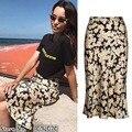 Для женщин эластичный пояс 3/4 длина 100% шелковый атлас Наоми-цветок мощность Naomi скользящая юбка