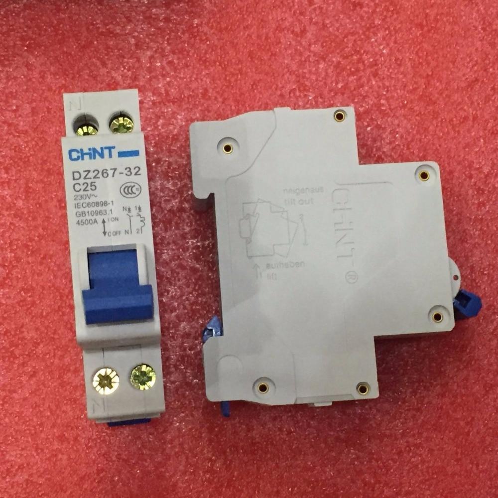 ⓪Free Shipping New CHINT Miniature circuit breaker DZ267-32 1P+N ...