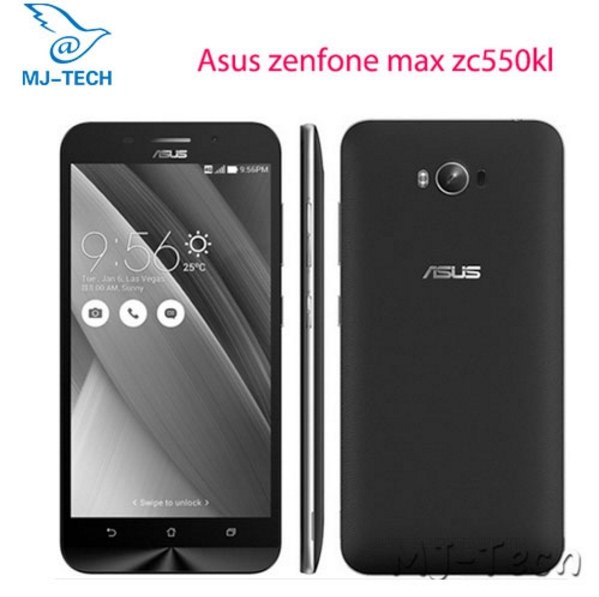 Original Asus zenfone max zc550kl 2G 32G 5000mah battery 5.5 inch MSM8916 quad core 1.0 GHz  Android 5.0 Smart cellphone