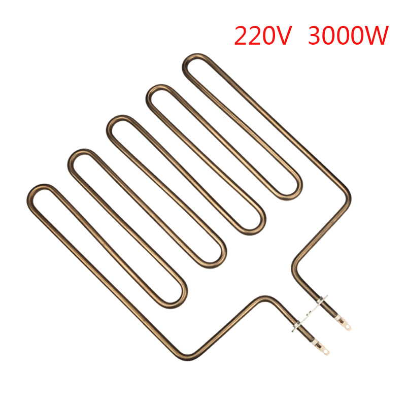 3000W  Hand-shape Sauna Electric Heat Tube Sauna Straight Element High Quality Sauna Electric Heat Pipe Tubular Heater Elements