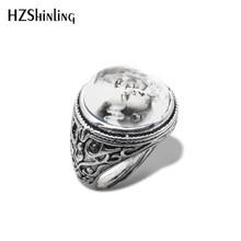 2019 novo tradicional frankenstein e sua noiva vintage anel de vidro cúpula cabochão anéis jóias artesanais