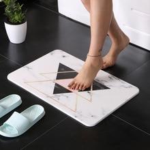 Creative diatom mud mat Bathroom anti-slip Quick-drying absorbent pad Kitchen floor mats Environmental protection