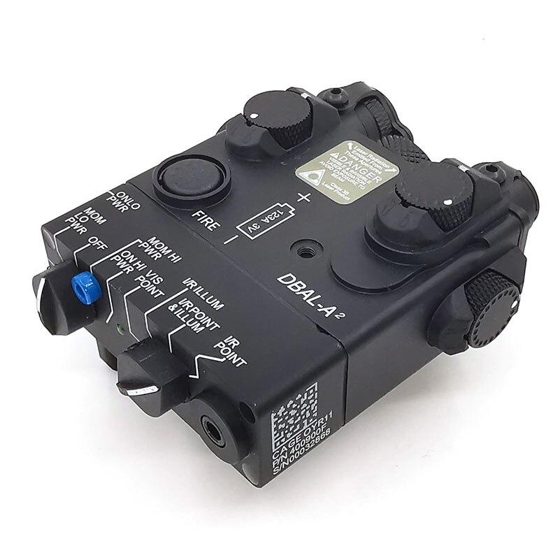 Image 3 - AN/PEQ 15A DBAL A2 светодиодный Белый свет оружия + красные лазерные линзы с дистанционным выключателем тактическая винтовка для охоты страйкбол батарея коробка-in Огни для оружия from Спорт и развлечения