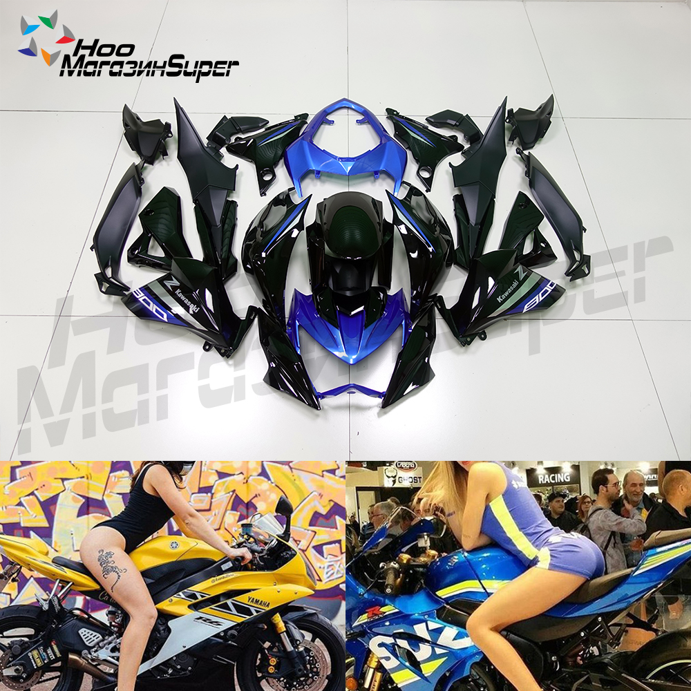 Complete High Quality ABS Injection Plastics Fairings Kit For Kawasaki Z800 2013 - 2016 13 14 15  2016 blue blackComplete High Quality ABS Injection Plastics Fairings Kit For Kawasaki Z800 2013 - 2016 13 14 15  2016 blue black