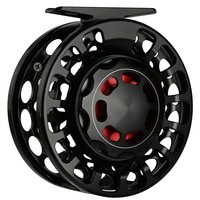 Goture 3 5 5 7 7 9 WT Aluminum Alloy Fly Fishing Reel Drag Sealed Saltwater