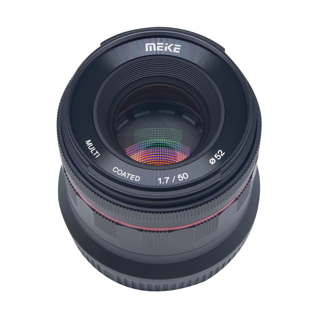 Meike 50mm f 1 7 Large Aperture Manual Focus Lens Full Frame for Canon EOS R