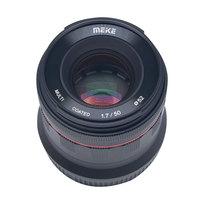 Meike 50mm f/1.7 Large Aperture Manual Focus Lens Full Frame for Canon EOS R mount /For Nikon Z Mount Z6 Z7 Mirrorless Cameras
