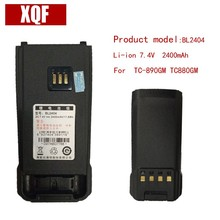 лучшая цена Original BL2404 LI-ON 7.4V 2400mAH Battery for Hytera HYT Radio TC-890GM,TC880GM Walkie Talkie