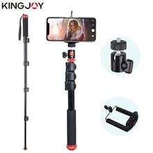 Штатив для селфи kingjoy универсальный монопод экшн камеры смартфона