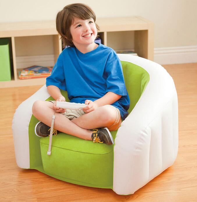 xx cm autntico peludo u en forma de nios inflables intex sof perezoso sof taburete silla