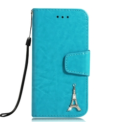 sFor Case iPhone 8 Coque Luxury 3D Tower Leather Flip Wallet Phone Cases For Cover iPhone 8 Etui Capinha For Apple iPhone8 Case 2