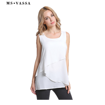 Women Tank Chiffon Vest Camis fashion Ladies tops
