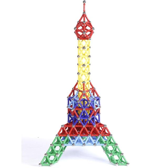 103pcs/157pcs/set Creative Magnetic Design Blocks Child intelligence toy educational toys magnetic stick favorite gift block toy 5