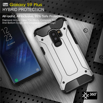 Rugged Armor Case For Samsung Phones Hard PC Shockproof Cover 2
