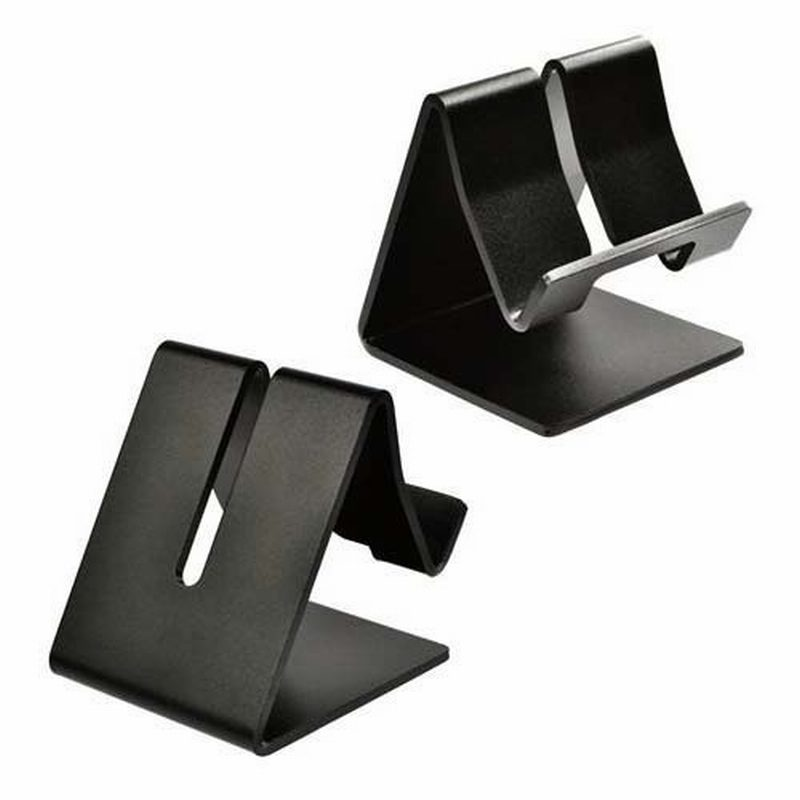 Portefeuille Universal Aluminum Metal Mobile Phone Tablet Desk Holder Stand For Iphone 6 Samsung Porta Smartphone Kindle Tablets In Holders