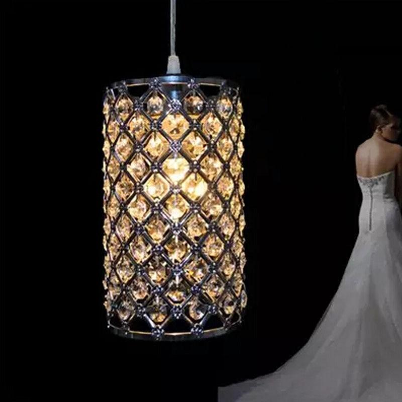 LukLoy Crystal Pendant Lights LED Kitchen Light LED lamp Bedside Hanging Lamp Ceiling Lamp Bedroom Living Room Lighting Fixtures