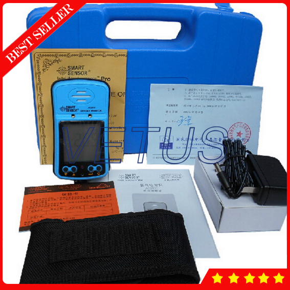 AS8901 Digital Oxygen concentrator tester with Fine Oxygen(O2) Concentration Detector Mini Oxygen Meter Gas Analyzer