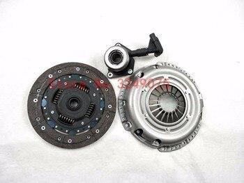 Auto automobiles rem Koppeling Kit Montage Koppeling pomp Auto Koppeling voor Ford Focus MK2 1.8L Clutch driedelige set