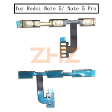 for Xiaomi Redmi Note 5/ Note 5 Pro Power Volume Side Key Button Flex Cable ON OFF Switch Flex Cable Replacement Repair Parts