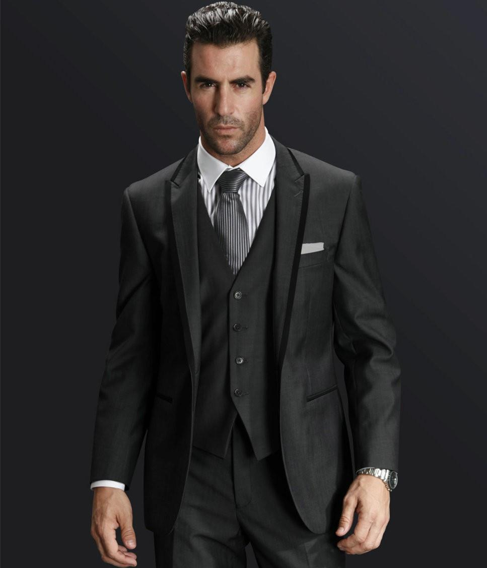 Popular Gray Three Piece Suit-Buy Cheap Gray Three Piece Suit lots ...