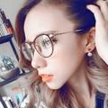 Nova TR90 rodada de óculos quadro de moda óculos para mulheres