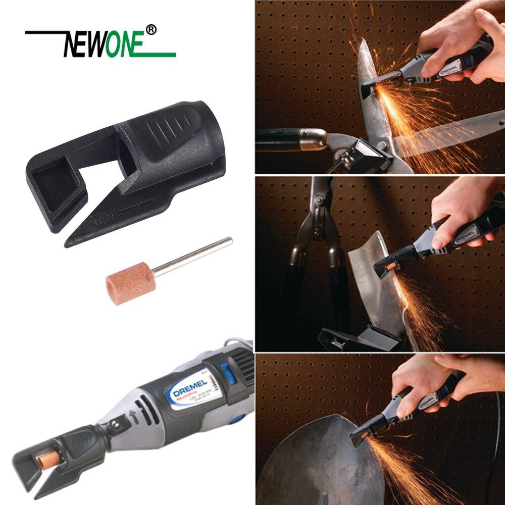 Saw Sharpening Attachment Garden Tool Sharpener Adapter for Dremel drill rotary mata bor amplas