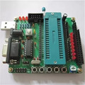 DIY kit placa aprendizagem terno as peças 51/AVR placa aprendizagem placa de desenvolvimento microcontrolador STC89C52