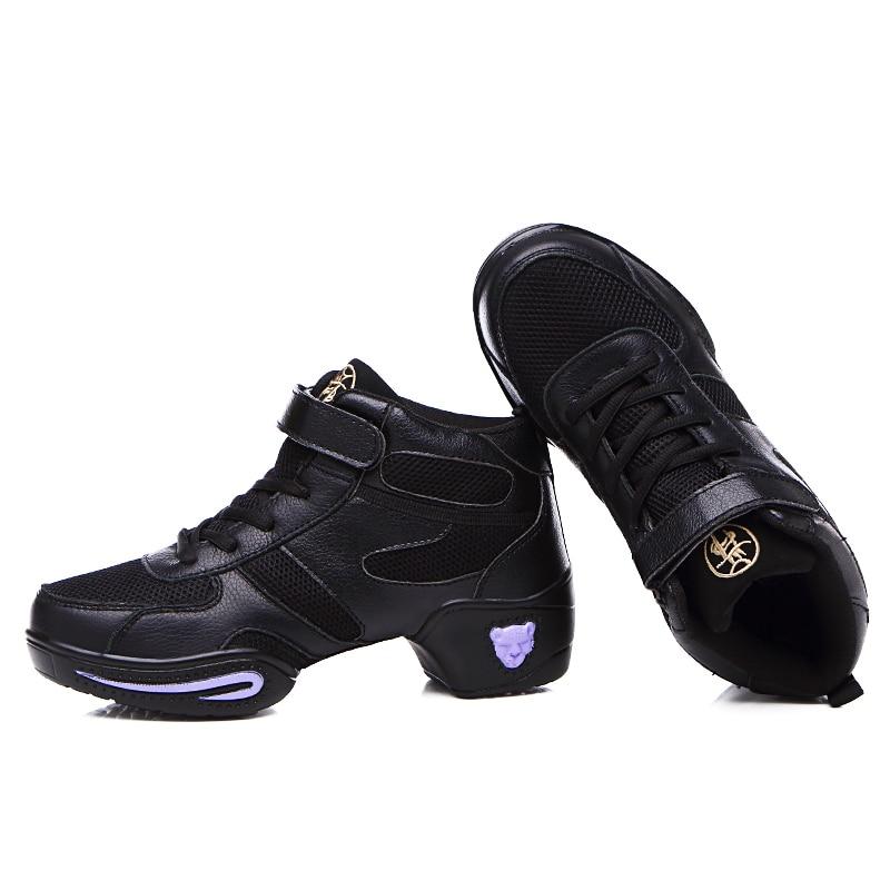 Mortonpart nouvelle semelle extérieure souple souffle chaussures de danse femmes sport danse baskets Jazz Hip Hop chaussures femme danse Jazz chaussures Discount