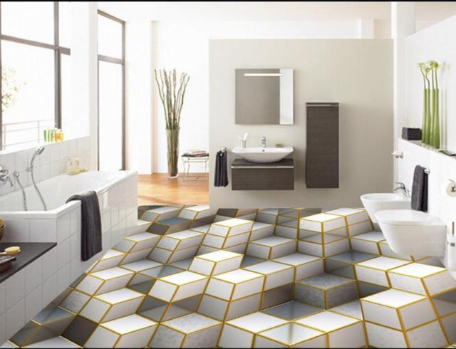 Decorative Vinyl Flooring Waterproof Stick 3d Floor Self