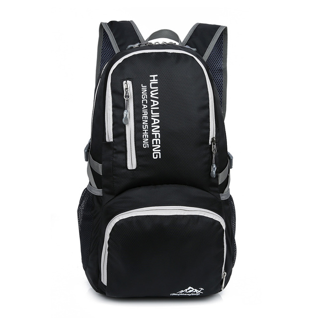 57ec52bdfb7f 30L Lightweight Foldable Backpack Waterproof Outdoor Backpack Nylon Women  Men Cycling Rucksack Travel Bag Hiking Camping
