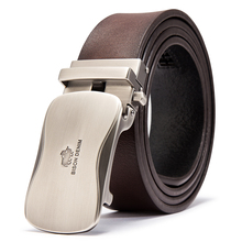Luxury Automatic Buckle Leather Belt