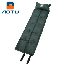 NEW 2019 Outdoor Dot type with automatic pillow blow-up lilo dampproof mat can spliced blow-up lilo sleeping pad Mattress health protection massage cushion the elderly pregnant women comfortable bottom prevent bedsore blow up lilo hemorrhoids sciatic