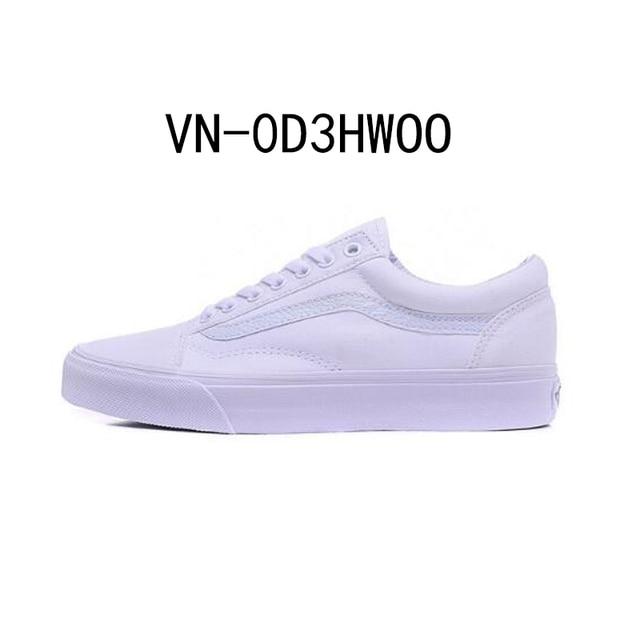 80fb9ebb2b9 Original New Arrival Vans Men s   Women s Classic Old Skool Skateboarding  Shoes Sport Outdoor Canvas Sneakers Comfortable