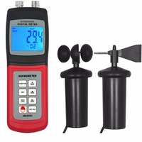 AM4836C Anemometer Wind Speed Direction Air Weather Meter Tester
